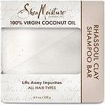 SheaMoisture 100% Virgin Coconut Oil Daily Hydration Clay Shampoo Bar