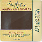 SheaMoisture Jamaican Black Castor Oil Strengthen & Restore Clay Shampoo Bar