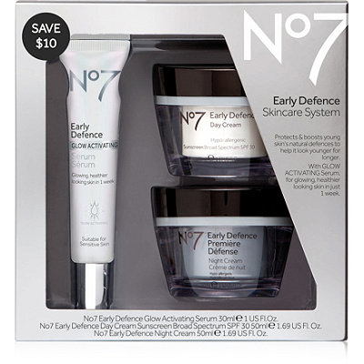 No7Early Defence Skincare System