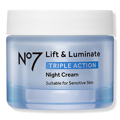 No7Lift and Luminate Triple Action Night Cream