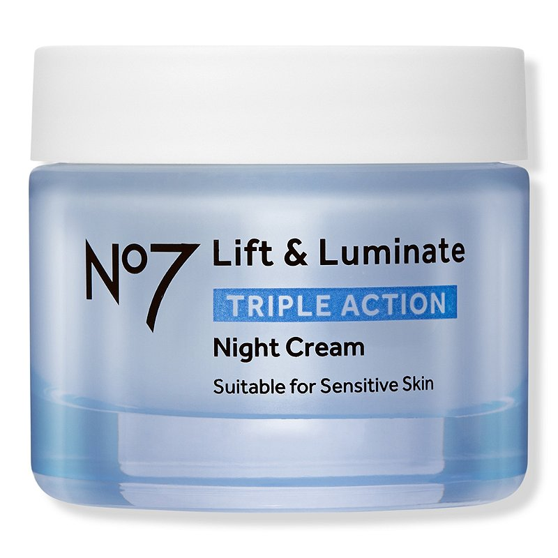 No7 Lift Luminate Triple Action Night Cream Ulta Beauty