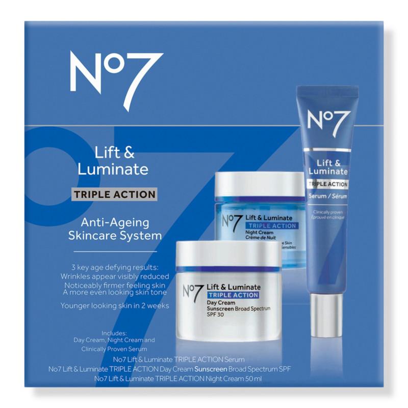 No7 Lift Luminate Triple Action Anti Ageing Skincare System Ulta Beauty