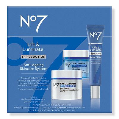 No7Lift %26 Luminate Triple Action Skincare System