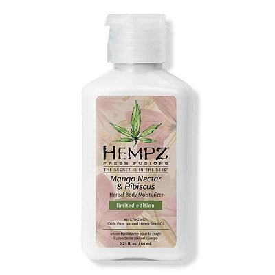 Travel Size Mango Nectar & Hibiscus Herbal Body Moisturizer