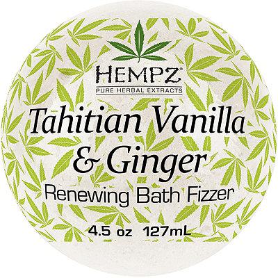 Tahitian Vanilla & Ginger Renewing Bath Fizzer
