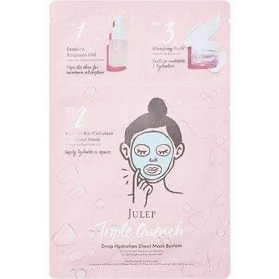 JulepTriple Quench Deep Hydration Sheet Mask System