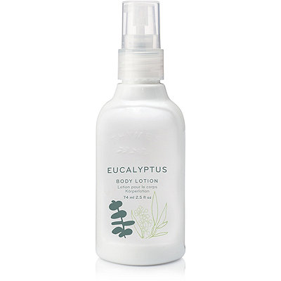 Online Only Travel Size Eucalyptus Body Lotion