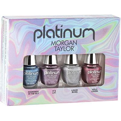 Morgan TaylorPlatinum Mini 4 Pack