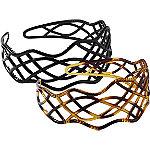 Plastic Headband Duo