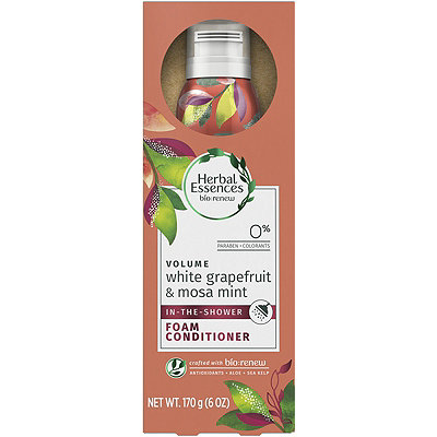 Bio:Renew White Grapefruit & Mosa Mint Shower Foam Conditioner