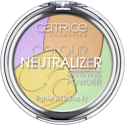 CatriceColour Neutralizer Mattifying Powder