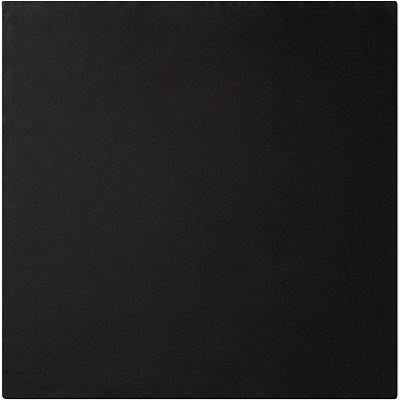 Black Square Satin Scarf