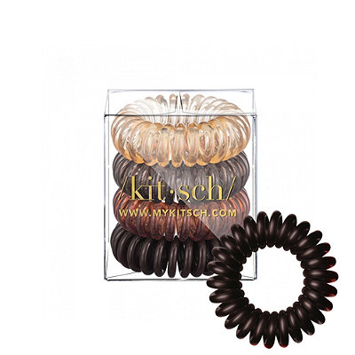 Brunette Hair Coils 4 Count