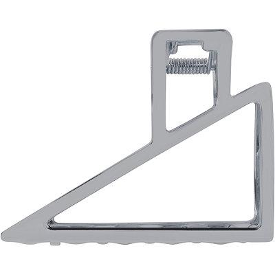 Hematite Triangle Open Clip