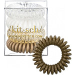 Kitsch Blonde Hair Tie Bobble 4 Pc