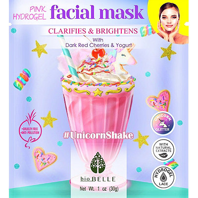 Online Only #UnicornShake Pink Hydrogel Mask