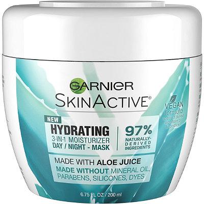 GarnierSkinActive Hydrating 3-in-1 Face Moisturizer with Aloe