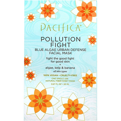 PacificaPollution Fight Blue Algae Urban Defense Facial Mask