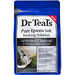 Charcoal Epsom Salt Soaking Solution