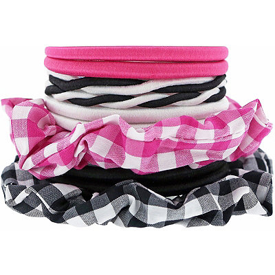 Checker Mixed Elastic Ponlyholders