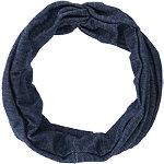 Denim Twist Front Headwrap