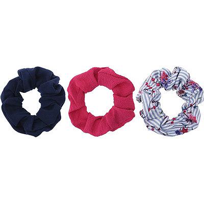 Mixed-Pattern Scrunchies