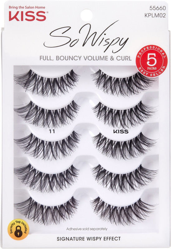 e6c57fdee23 Kiss Ever EZ Lashes #11, Multipack