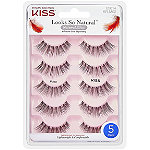 Kiss Looks So Natural Lash Poise, Multipack