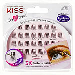 Kiss Ever EZ Trio Lashes, Medium Length