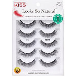 Kiss Looks So Natural Lash Shy, Multipack