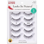 Kiss Ever EZ Lashes #03, Multipack