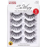 Kiss Ever EZ Lashes #01, Multipack