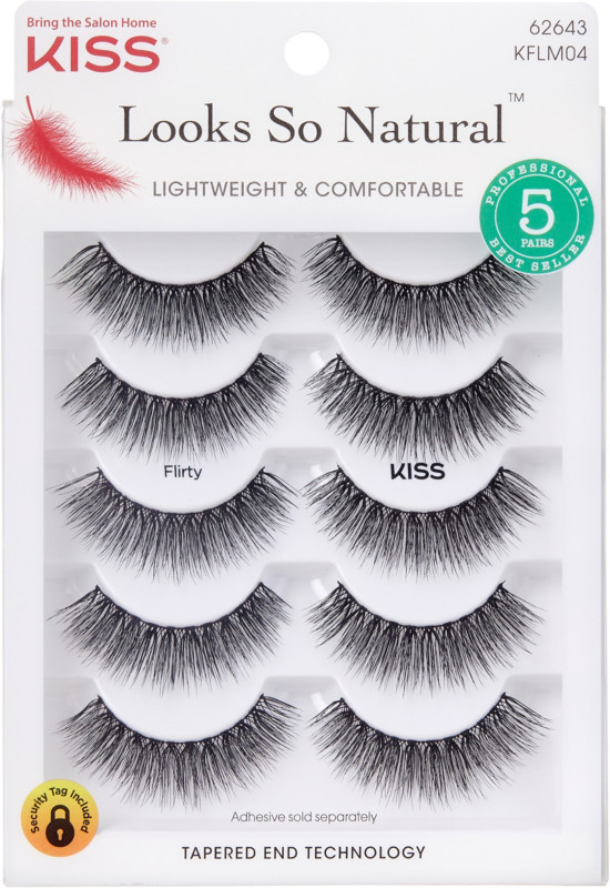 Kiss Looks So Natural Lash Flirty, Multipack
