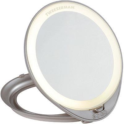 TweezermanAdjustable Lighted Mirror