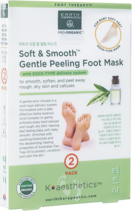 Earth Therapeutics Soft Smooth Gentle Peeling Foot Mask Ulta Beauty