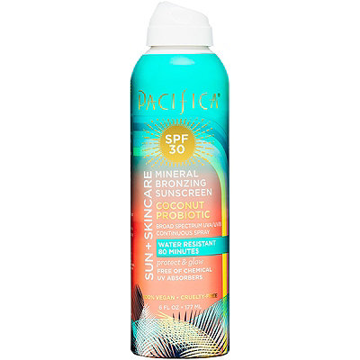 Sun + Skincare Mineral Bronzing Sunscreen Coconut Probiotic SPF 30
