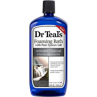 Online Only Activated Charcoal Foaming Bath