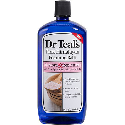 Dr. Teals Online Only Pink Himalayan Foaming Bath Restore %26 Replenish
