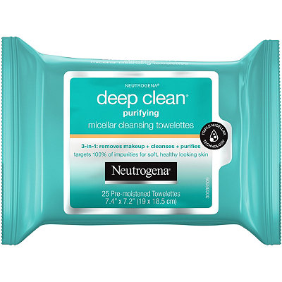 NeutrogenaDeep Clean Purifying Micellar Towelettes