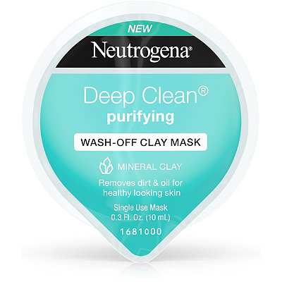 Deep Clean Purifying Wash-Off Clay Mask