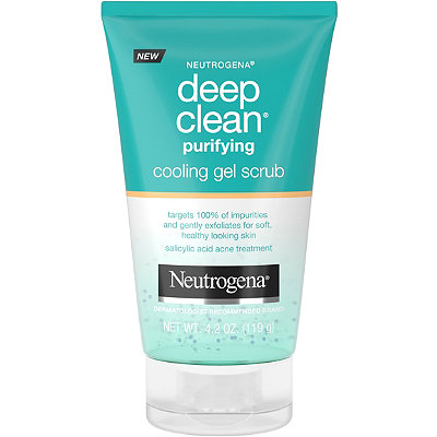 Deep Clean Purifying Cooling Gel Scrub