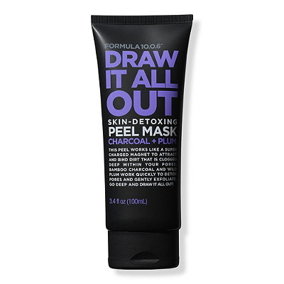 Draw It All Out Skin-Detoxing Charcoal + Plum Peel Mask
