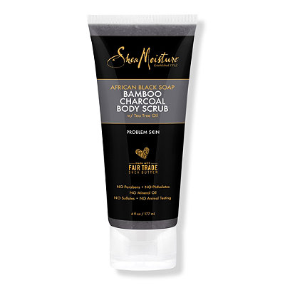 African Black Soap & Bamboo Charcoal Scrub