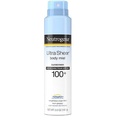 Ultra Sheer Spray Spf100