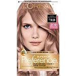 L'Oréal Superior Preference Fade-Defying Color & Shine 7RB Dark Rose Blonde