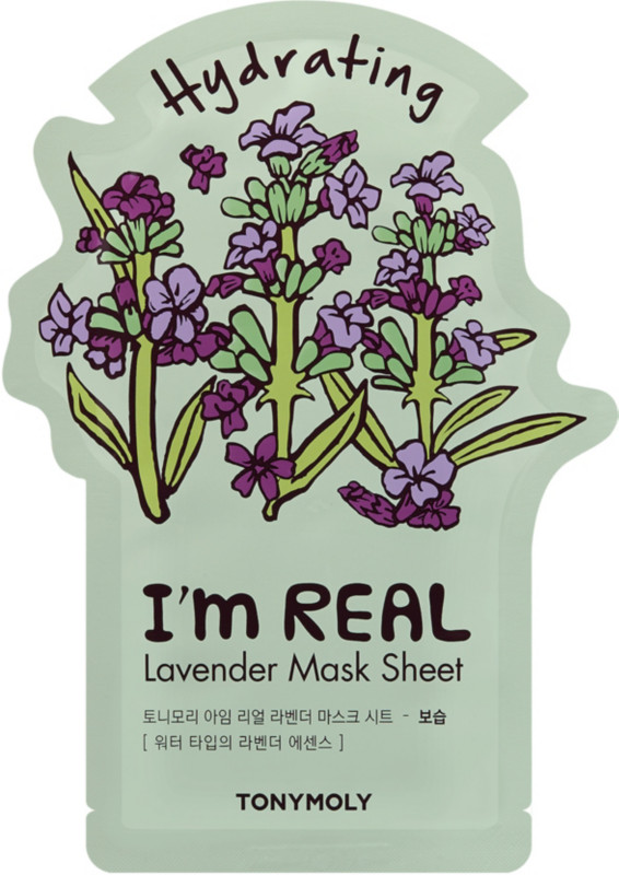 I'm Real Red Wine Sheet Mask by TONYMOLY #9
