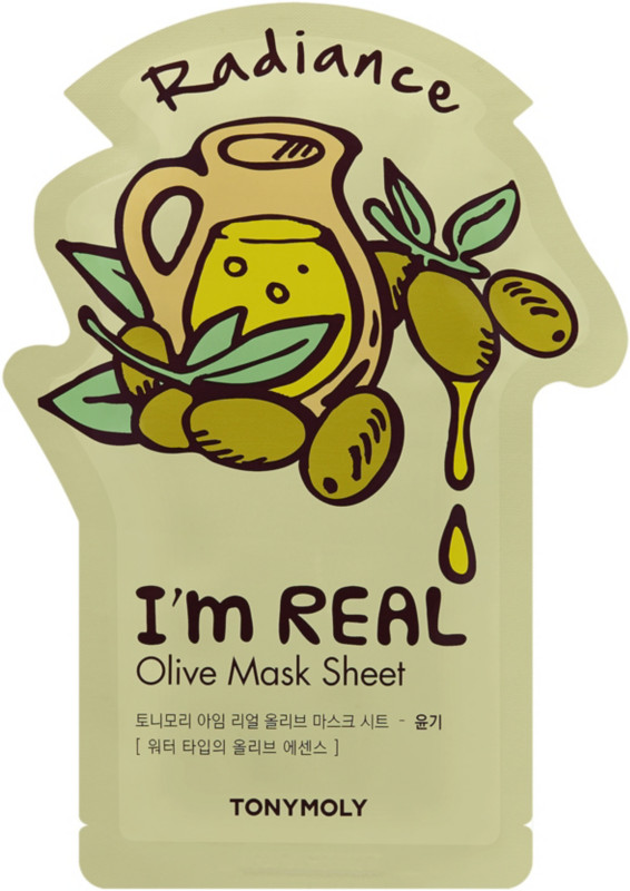 I'm Real Red Wine Sheet Mask by TONYMOLY #12