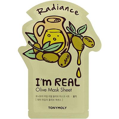 TONYMOLYI'm Real Olive Sheet Mask