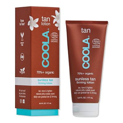Organic Sunless Tan Firming Lotion