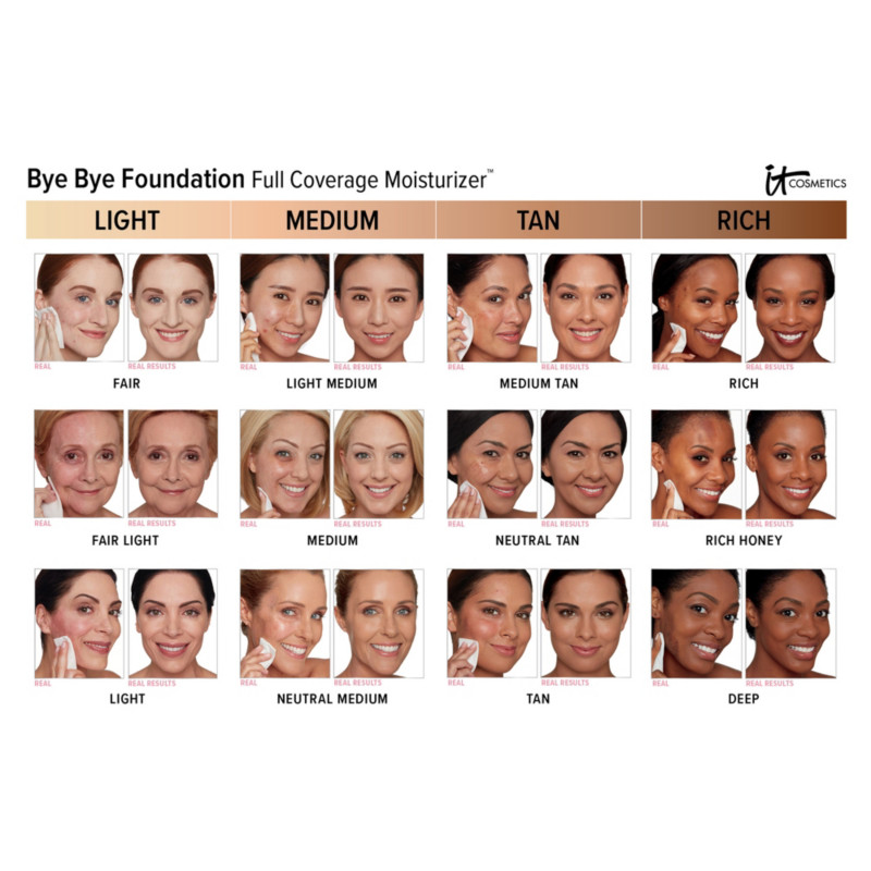 Bye Bye Foundation Full Coverage Moisturizer SPF 50+ by IT Cosmetics #10
